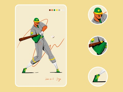 Sport posture baseball sports sport artwork vector graphicdesign illustration design