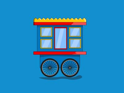 Fuchka Cart