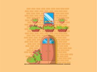 Door Illustration For Dribble  01