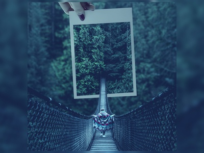 In the middle of nowhere -Photo Manipulation