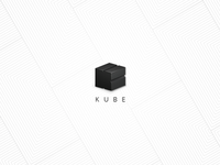 Kube extrude cube kube geometric logo