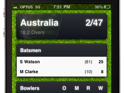 Crikkket iOS Web App android app ashes cricket ios ipad iphone web app