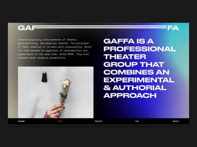 Gaffa Website