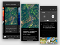 News App – Longform Articles
