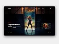 Captain Marvel UI