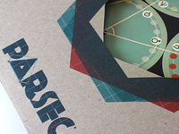 """""""Parsec"""" chutes and ladder board game"""