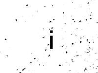 """RadioActive"" Typographic Music Video"