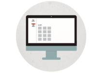 Web design Icon for my portfolio website.