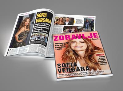 """Magazine editorial """"Zdravlje i ljepota"""" for Dnevni list"""