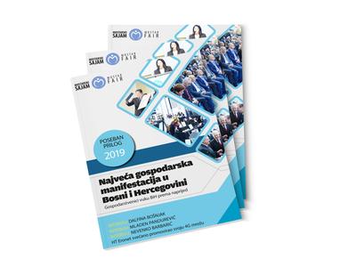 """Brochure editorial for """"Mostar fair 2019"""""""