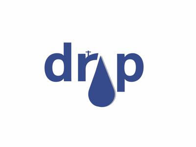 Recreation of DROP word logo