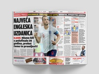 Design for sports news