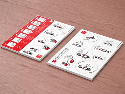 Sticker Pack for Dental Care Office
