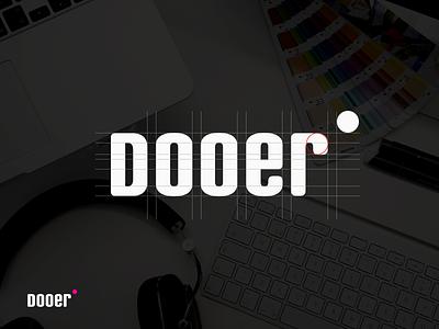 Dooer Logo dooer guideline identity branding logo