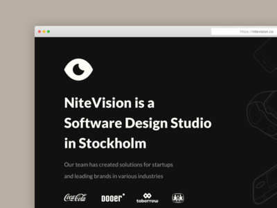 nitevision.co is live 🎉