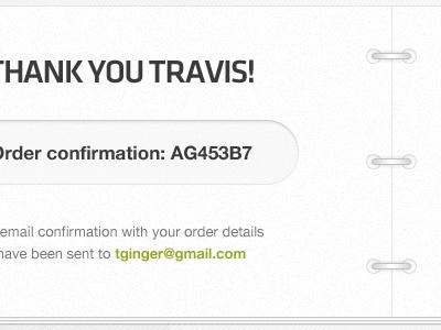 Thank You Travis