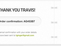 Thank You Travis
