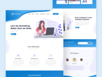 Tech Solution Landing Page