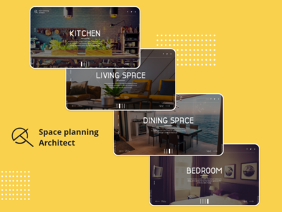#02 Space Planning Architect Landing Page