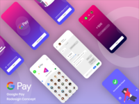 #02 Google Pay App Redesign Concept
