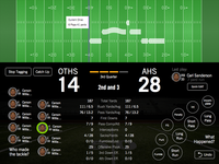 Early Concept for a Football Stat App
