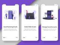 Onboarding App UI Design Challenge