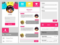 Superhero Themed UI Design – Jubilee