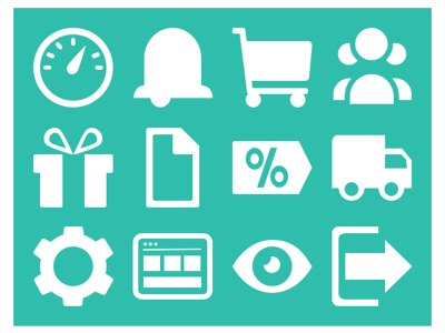 Bulavard Icons icons vector ecommerce online store