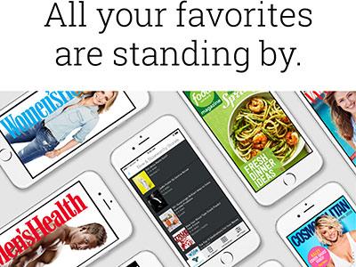 Texture - World's Best Magazines ui email app