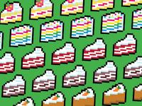16-Bit Snacks - Cakes