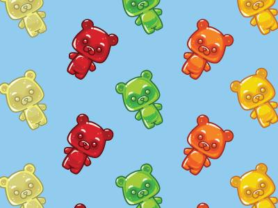 Gummy Bears gummy bears candy vector