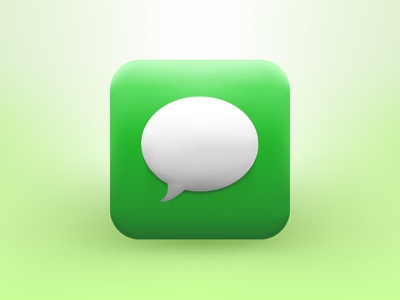 Message icon icon message ios