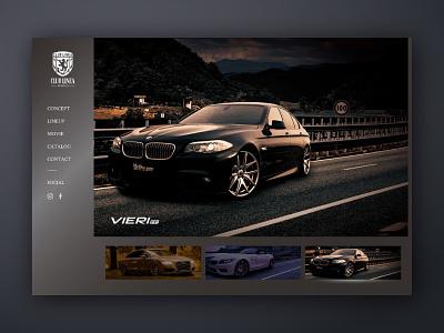 CLUB LINEA - Brand site brand automobile wheelie web deisgn webdeisgn web