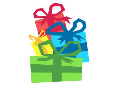 Presents illustration gift presents christmas