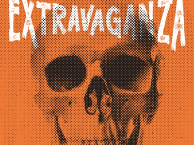 Halloween Poster halloween skull poster type