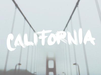 California golden gate bridge fog san francisco california