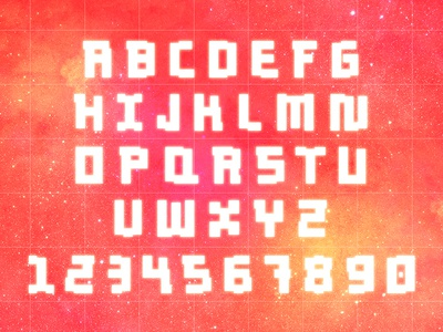 Digital Grapefruit space sci fi future font type