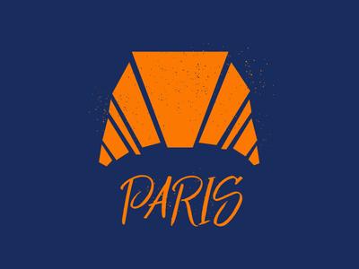 Paris #Typehue croissant paris