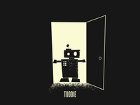 Toddie illustration toddler robot