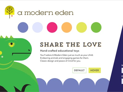 A Modern Eden Style Tile II sketch element collage style tile branding and identity branding