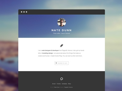 Personal Site