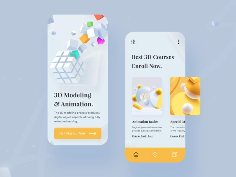 3D Modeling & Animation : Mobile App