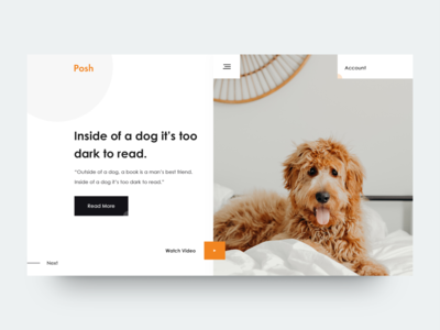 Dog :: Header Exploration :: Posh