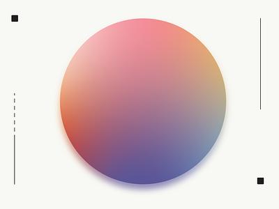 Experiment_03 iridescence elevation exploration gradient color gradient vector