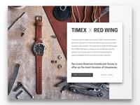 Timex Landing Page