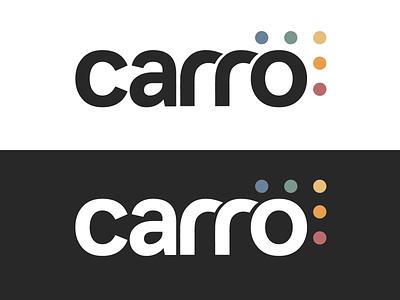 Carro Logo Design retro minimal icon typography design logo