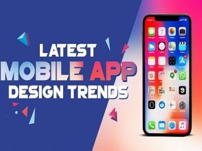Latest Mobile App Design Trends app design ux design ui app design trends mobile app design