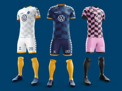 Chattanooga FC 2020 Kits jersey mockup jersey design kit design football kit soccer kit soccer sports design sports branding sportswear jerseys jersey