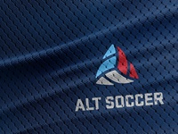 Alt Soccer Logo Application