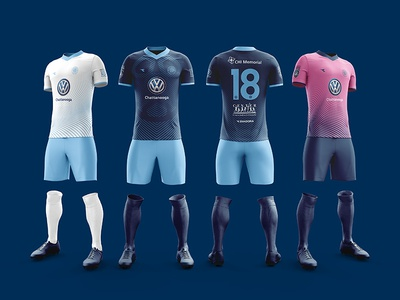 2018 Chattanooga FC Kits